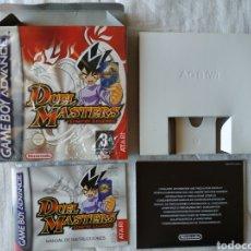 Videojuegos y Consolas: DUEL MASTERS COMPLETO SIN CARTUCHO NINTENDO GAME BOY GAMEBOY ADVANCE. Lote 170041056