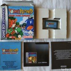 Videojuegos y Consolas: YOSHI'S ISLAND COMPLETO NINTENDO GAME BOY GAMEBOY ADVANCE. Lote 170041072