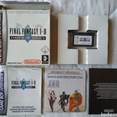 Videojuegos y Consolas: FINAL FANTASY I II DAWN OF SOULS GAMEBOY ADVANCE. Lote 170041105