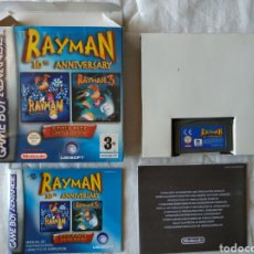 Videojuegos y Consolas: RAYMAN 10TH ANNIVERSARY COMPLETO NINTENDO GAME BOY GAMEBOY ADVANCE. Lote 170041142