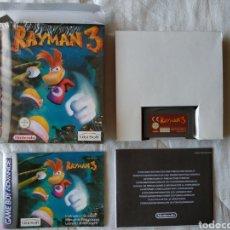 Videojuegos y Consolas: RAYMAN 3 COMPLETO NINTENDO GAME BOY GAMEBOY ADVANCE. Lote 170041200