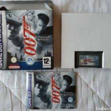 Videojuegos y Consolas: 007 TODO O NADA COMPLETO NINTENDO GAME BOY GAMEBOY ADVANCE. Lote 170041302