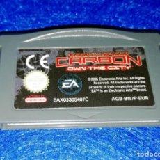 Videojuegos y Consolas: VIDEOJUEGOS --- CARTUCHO JUEGO NEED FOR SPEED CARBON PARA NINTENDO GAME BOY ADVANCE. Lote 171840905