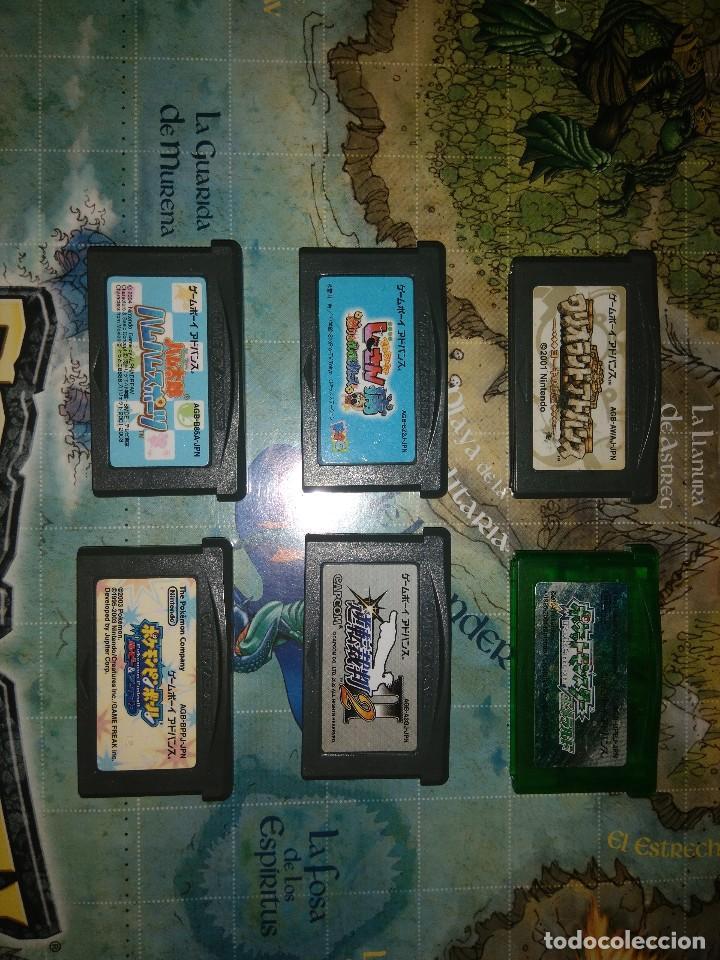 Videojuegos y Consolas: Lote 10 juegos Game boy advance. - Foto 3 - 171976689