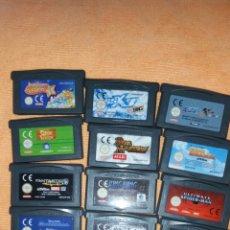 Videojuegos y Consolas: SUPER PACK GAMEBOY ADVANCE. Lote 172134058