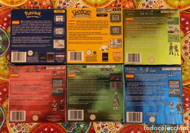Videojuegos y Consolas: Lote de 6 juegos Pokémon GB y GBA Completos!!! - Foto 2 - 172257772