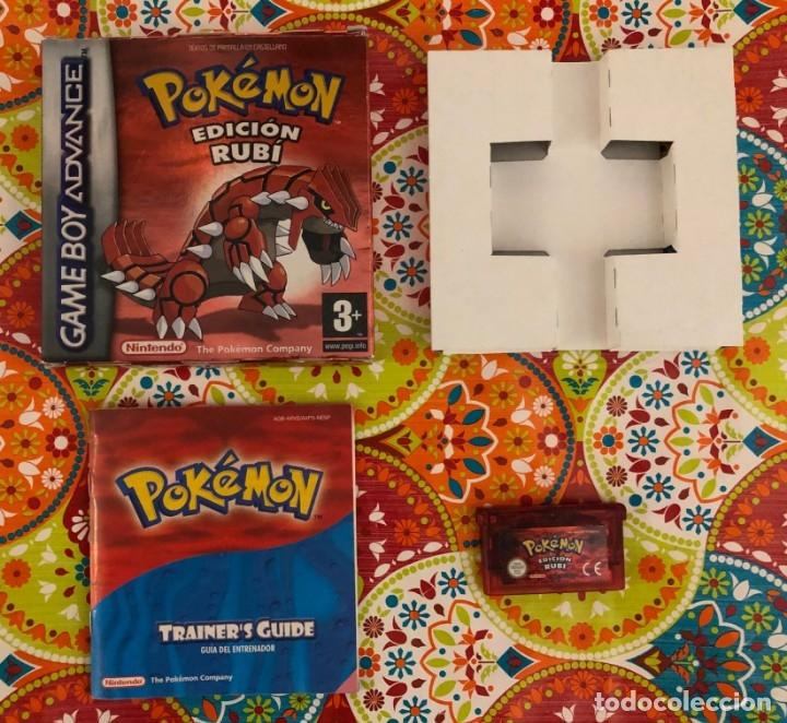 Videojuegos y Consolas: Lote de 6 juegos Pokémon GB y GBA Completos!!! - Foto 7 - 172257772