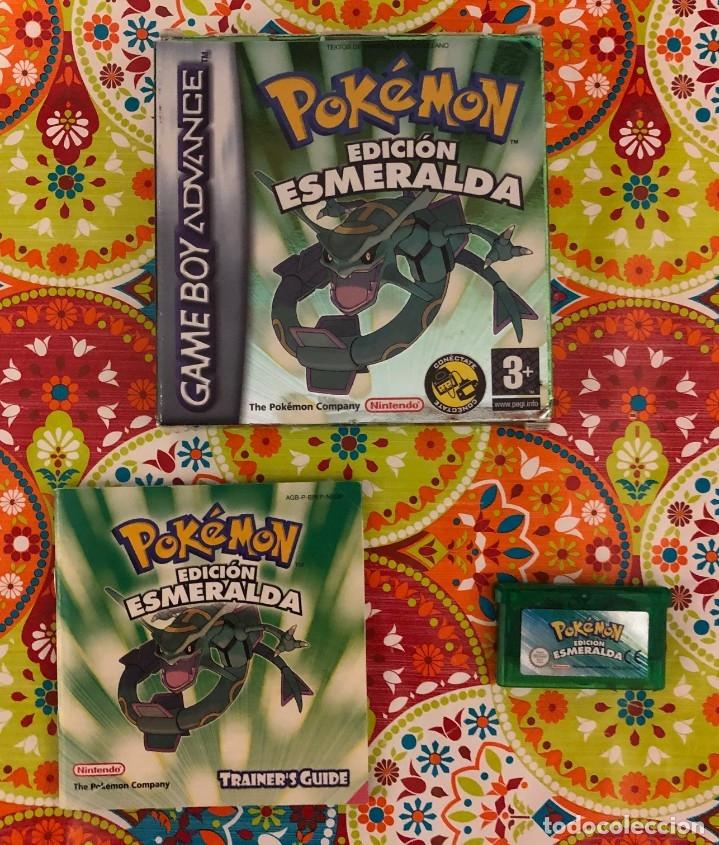 Videojuegos y Consolas: Lote de 6 juegos Pokémon GB y GBA Completos!!! - Foto 8 - 172257772
