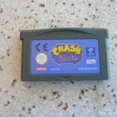 Videojuegos y Consolas: JUEGO DE GAME BOY ADVANCE ,CRASH FUSION. Lote 189730655