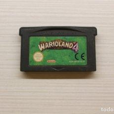 Videojuegos y Consolas: NINTENDO ADVANCE WARIOLAND 4, FUNCIONA. Lote 173503234