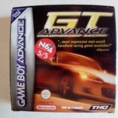 Videojuegos y Consolas: SOLO CAJA BUEN ESTADO CON INSTRUCCIONES-GB ADVANCE-GT ADVANCE CHAMPIONSHIP RACING-PAL. Lote 173571654