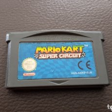 Videojuegos y Consolas: JUEGO MARIO KART SUPER CIRCUIT NINTENDO GAME BOY ADVANCE GAMEBOY. Lote 173571684