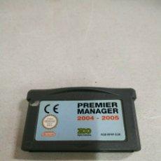 Jeux Vidéo et Consoles: PREMIER MANAGER 2004 2005 - GBA - GAME BOY ADVANCE - PAL. Lote 173585239