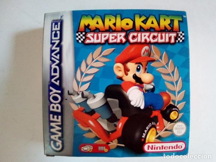 SOLO CAJA MUY BUEN ESTADO CON INSTRUCCIONES-GB ADVANCE-MARIO KART SUPER CIRCUIT-PAL (Juguetes - Videojuegos y Consolas - Nintendo - GameBoy Advance)