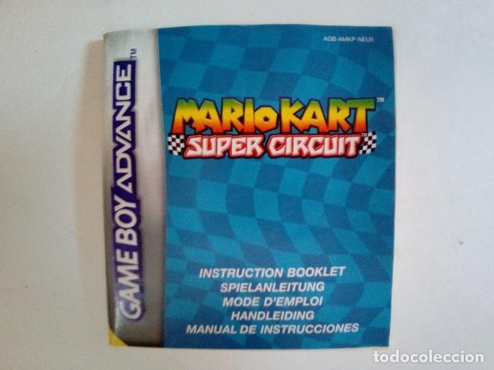 Videojuegos y Consolas: SOLO CAJA MUY BUEN ESTADO CON INSTRUCCIONES-GB ADVANCE-MARIO KART SUPER CIRCUIT-PAL - Foto 15 - 173598582