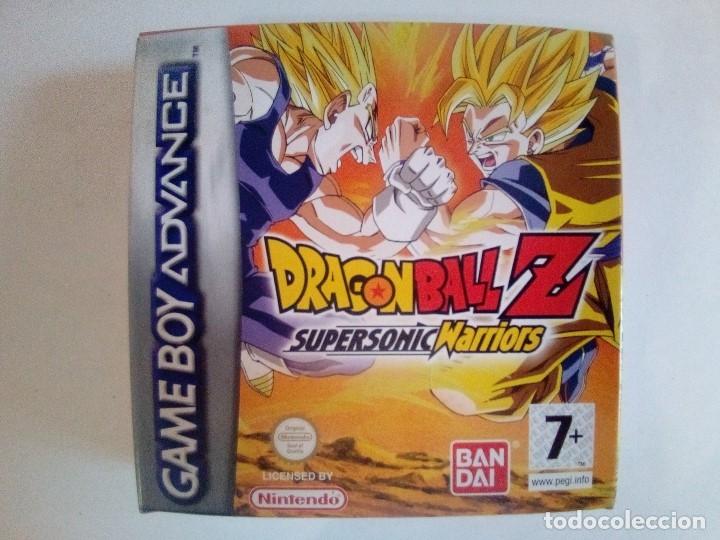 SOLO CAJA PERFECTA CON INSTRUCCIONES-GB ADVANCE-DRAGON BALL Z SUPERSONIC WARRIORS-PAL (Juguetes - Videojuegos y Consolas - Nintendo - GameBoy Advance)