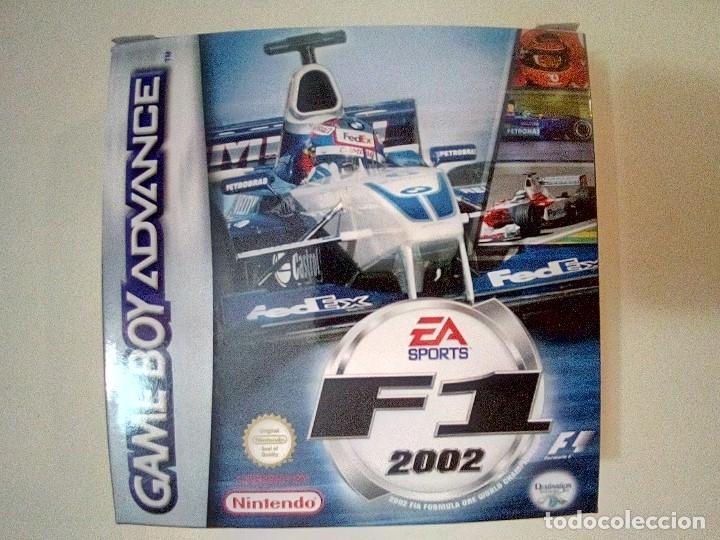 SOLO CAJA PERFECTA CON INSTRUCCIONES-GB ADVANCE-F1 2002-PAL (Juguetes - Videojuegos y Consolas - Nintendo - GameBoy Advance)