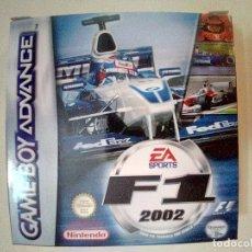 Videojuegos y Consolas: SOLO CAJA PERFECTA CON INSTRUCCIONES-GB ADVANCE-F1 2002-PAL. Lote 173817508