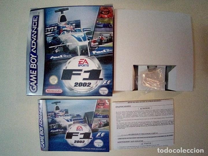 Videojuegos y Consolas: SOLO CAJA PERFECTA CON INSTRUCCIONES-GB ADVANCE-F1 2002-PAL - Foto 10 - 173817508
