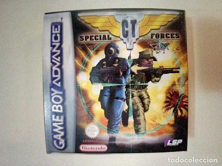SOLO CAJA MUY BUEN ESTADO CON INSTRUCCIONES-GB ADVANCE-SPECIAL CT FORCES-PAL (Juguetes - Videojuegos y Consolas - Nintendo - GameBoy Advance)