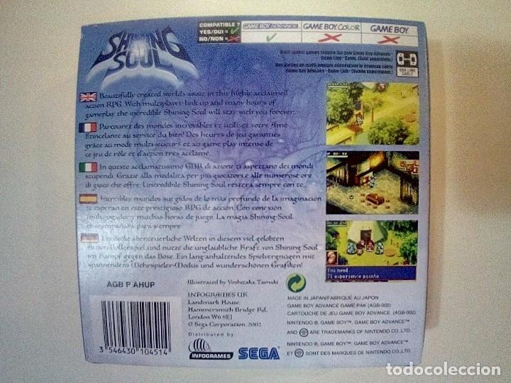 Videojuegos y Consolas: SOLO CAJA MUY BUEN ESTADO SIN INSTRUCCIONES-GB ADVANCE-SHINING SOUL-PAL - Foto 2 - 174011017