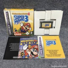 Videojuegos y Consolas: SUPER MARIO ADVANCE 4 SUPER MARIO BROS 3 NINTENDO GAME BOY ADVANCE GBA. Lote 187101131