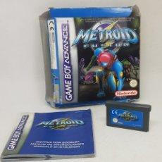 Videojuegos y Consolas: METROID FUSION - GAME BOY - CAR159. Lote 174420197