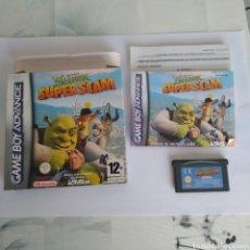 Videojuegos y Consolas: JUEGO NINTENDO GBA GAME BOY ADVANCE SHREK SUPER SLAM. Lote 175914635