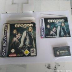Videojuegos y Consolas: JUEGO NINTENDO GBA GAME BOY ADVANCE ERAGON. Lote 175916119