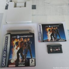 Videojuegos y Consolas: JUEGO NINTENDO GBA GAME BOY ADVANCE LOS 4 FANTÁSTICOS. Lote 175916760
