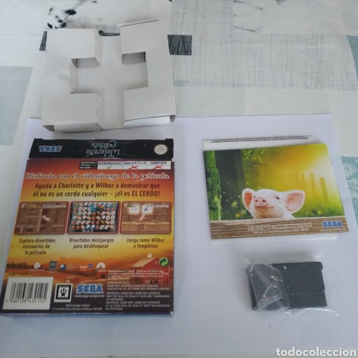 Videojuegos y Consolas: Juego Nintendo GBA Game boy advance La telaraña de Carlota - Foto 2 - 175917298