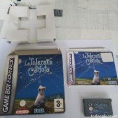 Videojuegos y Consolas: JUEGO NINTENDO GBA GAME BOY ADVANCE LA TELARAÑA DE CARLOTA. Lote 175917298