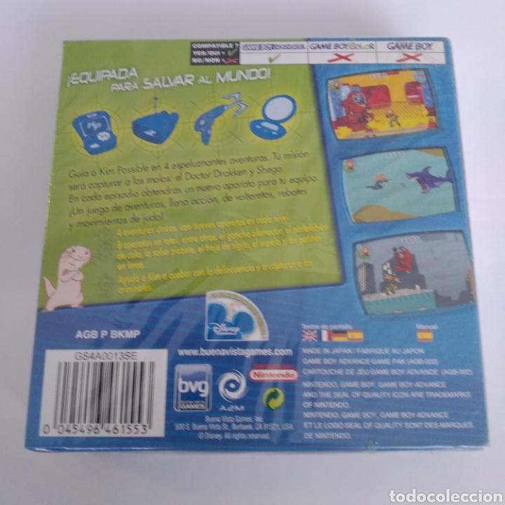 Videojuegos y Consolas: Juego Nintendo GBA Game boy advance Kim Possible contra el doctor Drakken. Precintado - Foto 2 - 175918044