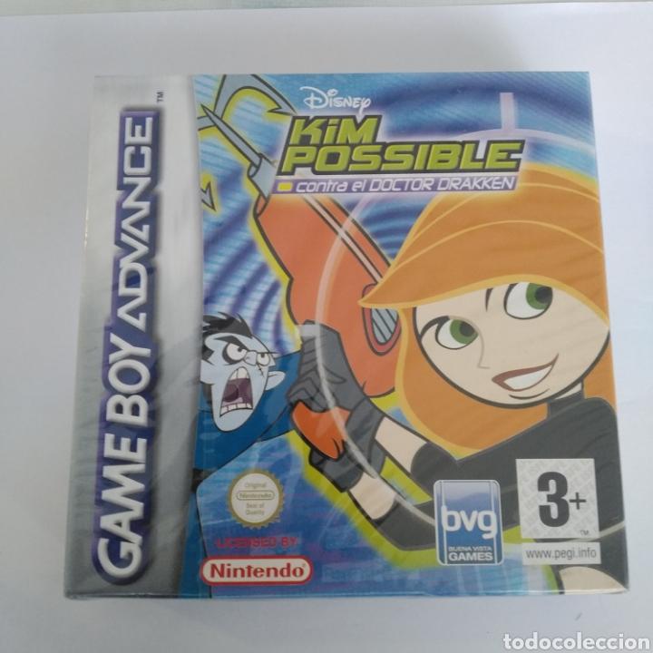 JUEGO NINTENDO GBA GAME BOY ADVANCE KIM POSSIBLE CONTRA EL DOCTOR DRAKKEN. PRECINTADO (Juguetes - Videojuegos y Consolas - Nintendo - GameBoy Advance)