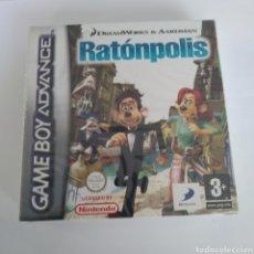 Videojuegos y Consolas: JUEGO NINTENDO GBA GAME BOY ADVANCE RATONPOLIS. PRECINTADO. Lote 175918195
