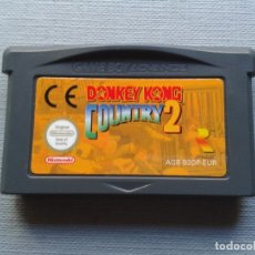 Videojogos e Consolas: NINTENDO GAME BOY ADVANCE GBA DONKEY KONG COUNTRY 2 SOLO CARTUCHO PAL! R9315. Lote 176239012