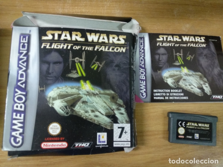 Star Wars Flight Of The Falcon Nintendo Game B Sold Through Direct Sale 176254413