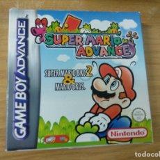 Videojuegos y Consolas: SUPER MARIO WORLD ADVANCE - COMPLETO - GAME BOY ADVANCE. Lote 176255035