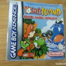 Videojuegos y Consolas: YOSHI'S ISLAND SUPER MARIO ADVANCE 3 - COMPLETO - GAME BOY ADVANCE. Lote 176255123