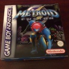 Videojuegos y Consolas: METROID FUSION GAMEBOY ADVANCE GBA NUEVO SIN PRECINTO. Lote 176670678