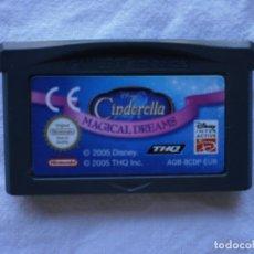 Videojuegos y Consolas: DISNEY CINDERELLA. MAGICAL DREAMS. GAMEBOY ADVANCE. Lote 178762032