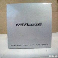 Videojuegos y Consolas: CAJA CON MANUALES DE NINTENDO GAMEBOY ADVANCE SP-VER FOTOS. Lote 179334140