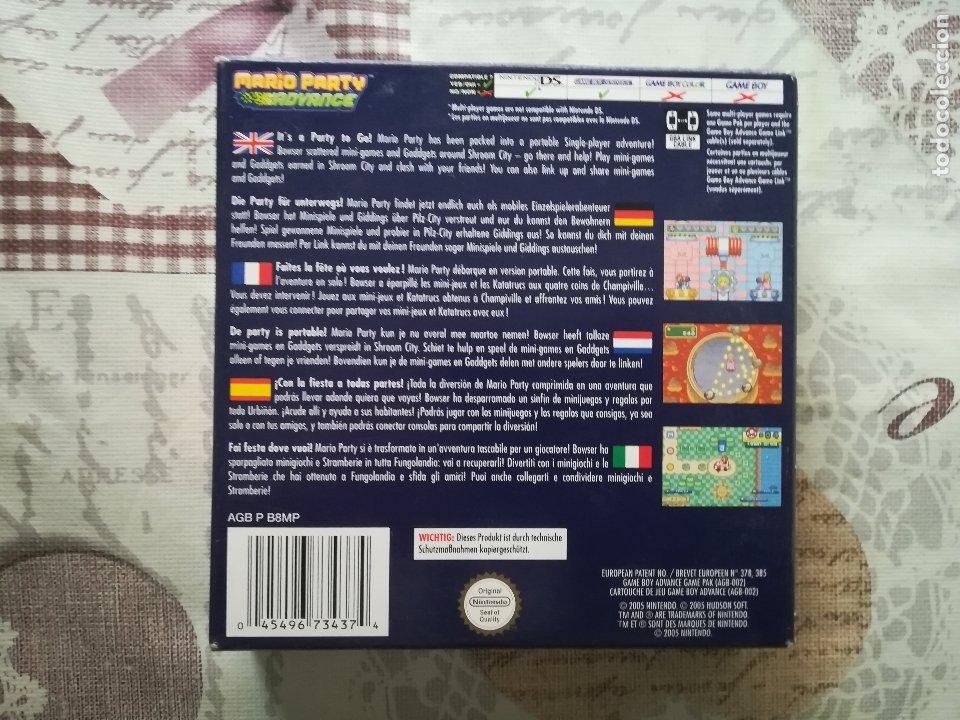 Videojuegos y Consolas: MARIO PARTY ADVANCE GAME BOY ADVANCE - Foto 7 - 179942811