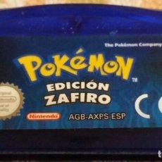 Videojuegos y Consolas: POKEMON ZAFIRO PAL ESP. Lote 179945553