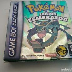 Videojuegos y Consolas: POKEMON EDICION ESMERALDA PAL EUR PAL EUR GAME BOY GAMEBOY ADVANCE. Lote 180313540
