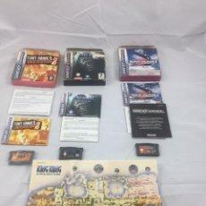 Videojuegos y Consolas: LOTE DE JUEGOS DE GAME BOY ADVANCE COMPLETOS. Lote 180399898
