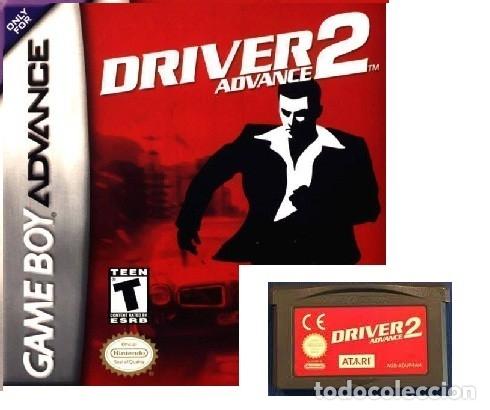 LOTE OFERTA JUEGO NINTENDO GAME BOY ADVANCE - DRIVER 2 - SIN CAJA SOLO EL JUEGO (Juguetes - Videojuegos y Consolas - Nintendo - GameBoy Advance)