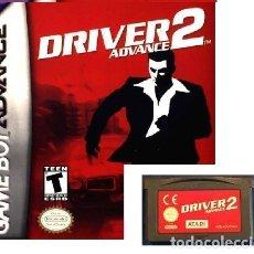 Videojuegos y Consolas: LOTE OFERTA JUEGO NINTENDO GAME BOY ADVANCE - DRIVER 2 - SIN CAJA SOLO EL JUEGO. Lote 181330891