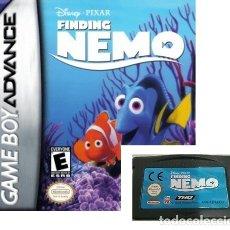 Videojuegos y Consolas: LOTE OFERTA JUEGO NINTENDO GAME BOY ADVANCE - FINDING NEMO - BUSCANDO A NEMO -SIN CAJA SOLO EL JUEGO. Lote 181353965