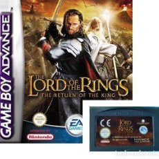 Videojuegos y Consolas: JUEGO NINTENDO GAME BOY ADVANCE - LORD OF THE RINGS THE RETURN OF THE KING - SIN CAJA SOLO EL JUEGO. Lote 181404318